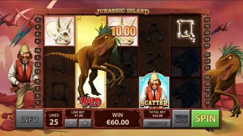 Jurassic Island review on Big Bonus Slots
