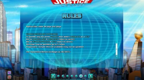 Justice League review on Big Bonus Slots