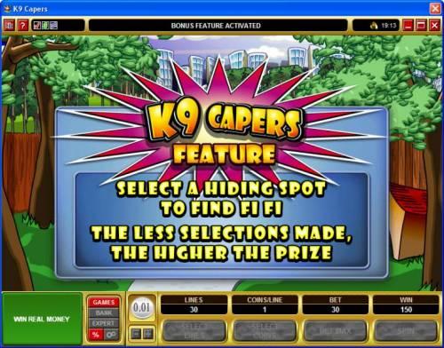 K9 Capers Big Bonus Slots