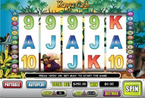 Kanga Cash review on Big Bonus Slots