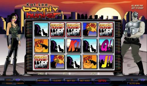 Kat Lee Bounty Hunter review on Big Bonus Slots
