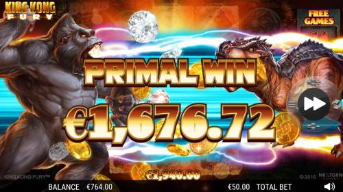 King Kong Fury review on Big Bonus Slots
