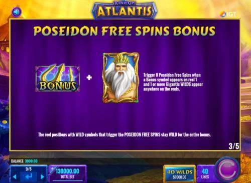 King of Atlantis review on Big Bonus Slots
