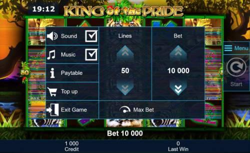King of the Pride review on Big Bonus Slots