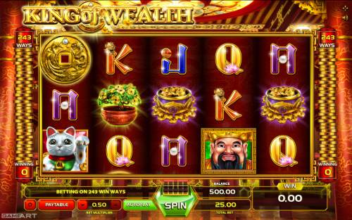 King of Wealth review on Big Bonus Slots
