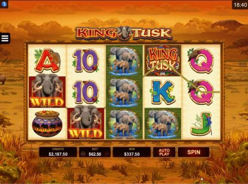 King Tusk review on Big Bonus Slots