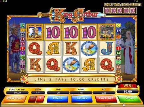 King Arthur review on Big Bonus Slots