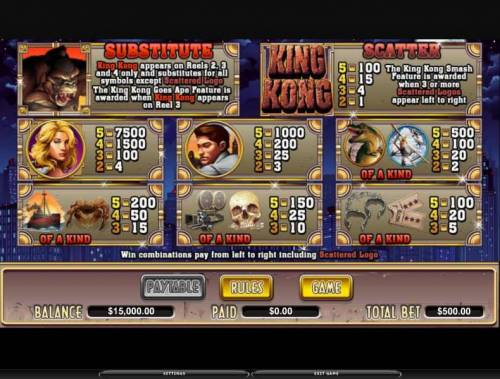 King Kong review on Big Bonus Slots