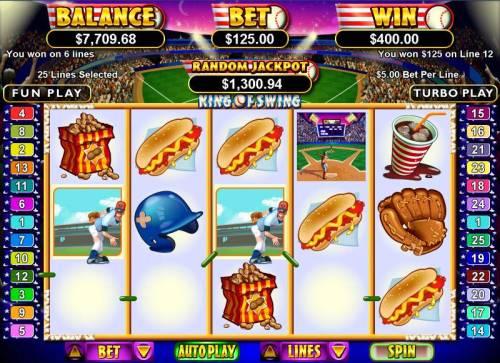 King of Swing review on Big Bonus Slots