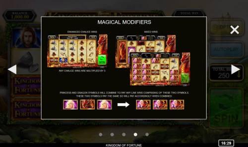 Kingdom of Fortune Big Bonus Slots Magical Modifiers