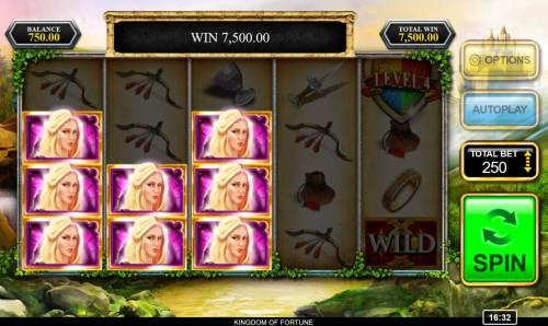 Kingdom of Fortune Big Bonus Slots Multiple winning paylines