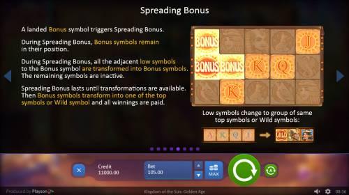 Kingdom of the Sun Golden Age review on Big Bonus Slots