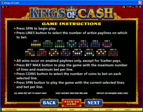 Kings of Cash review on Big Bonus Slots