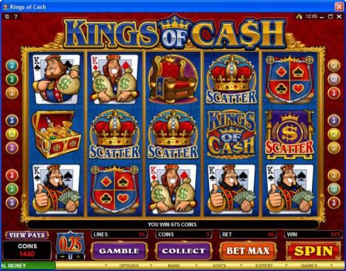 Kings of Cash review on Big Bonus Slots