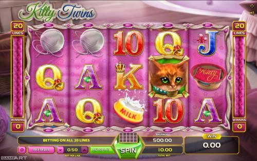 Kitty Twins review on Big Bonus Slots