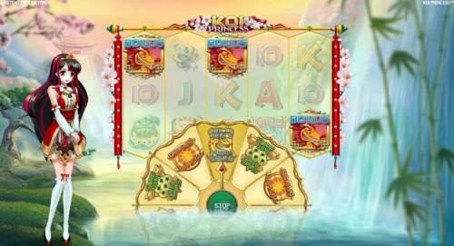 Koi Princess review on Big Bonus Slots