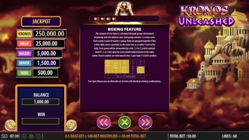 Kronos Unleashed review on Big Bonus Slots