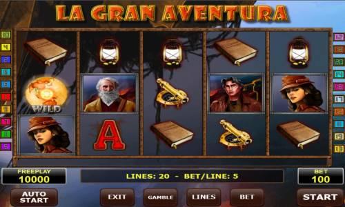 La Gran Aventura review on Big Bonus Slots