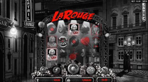 La Rouge Big Bonus Slots Multiple winning paylines