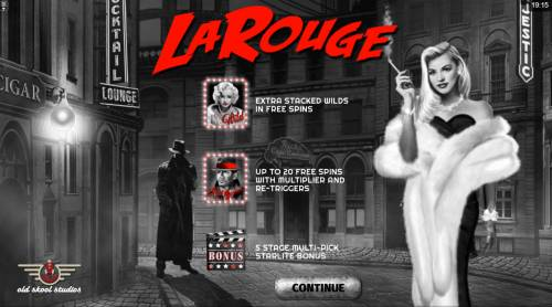 La Rouge Big Bonus Slots Introduction