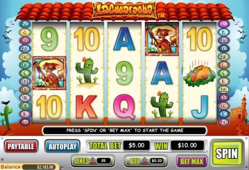 La Cucharacha review on Big Bonus Slots