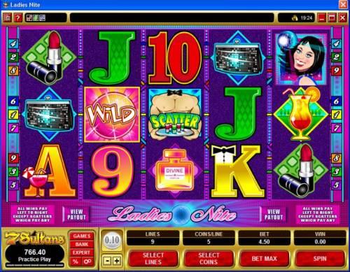 Ladies Nite review on Big Bonus Slots