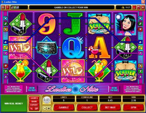 Ladies Nite review on Big Bonus Slots