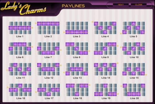 Lady's Charms review on Big Bonus Slots