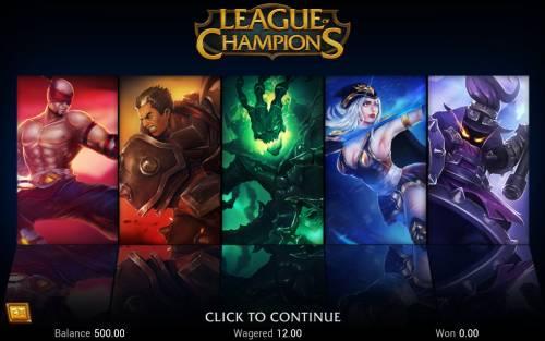 League of Champions Big Bonus Slots Introduction