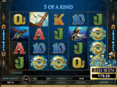 Leagues of Fortune review on Big Bonus Slots