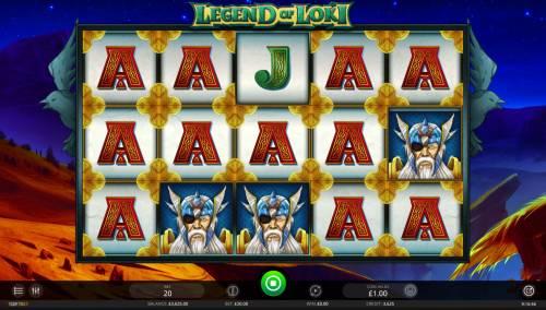 Legend of Loki review on Big Bonus Slots