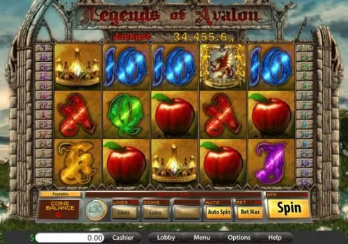 Legends of Avalon review on Big Bonus Slots