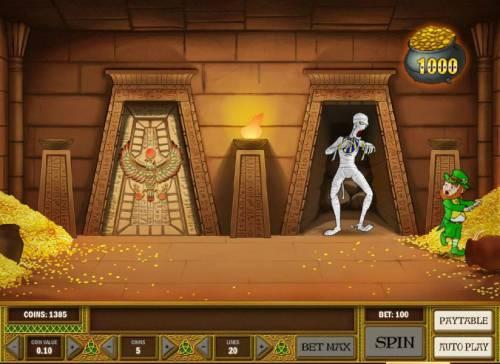 Leprechaun goes Egypt review on Big Bonus Slots