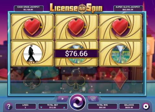 License to Spin review on Big Bonus Slots