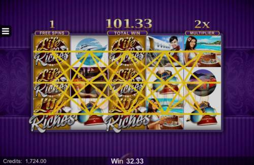 Life of Riches review on Big Bonus Slots