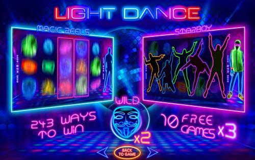 Light Dance Big Bonus Slots Introduction