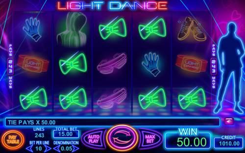Light Dance Big Bonus Slots Multiple winning paylines