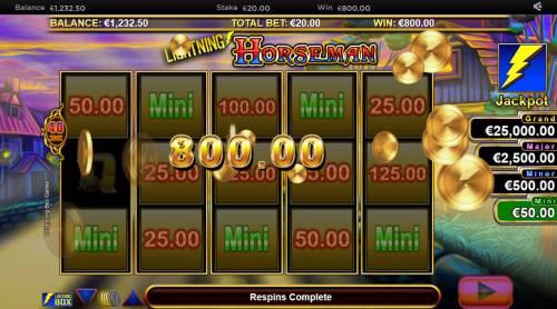 Lightning Horseman review on Big Bonus Slots