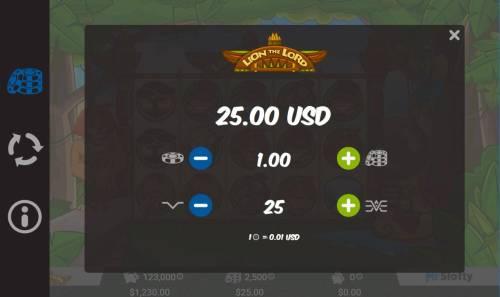 Lion the Lord review on Big Bonus Slots