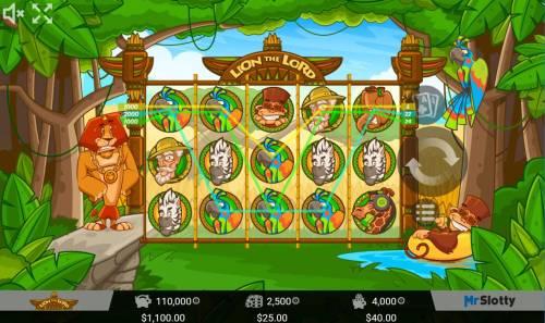 Lion the Lord Big Bonus Slots Multiple winning paylines