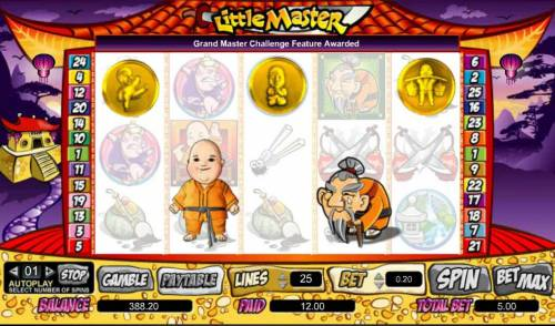 Little Master Big Bonus Slots choose a shield to reveal your free spins award