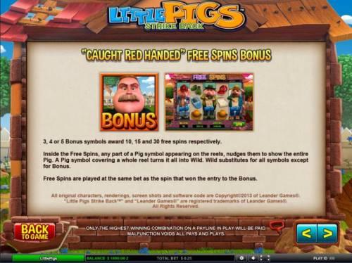 Little Pigs Strike Back review on Big Bonus Slots