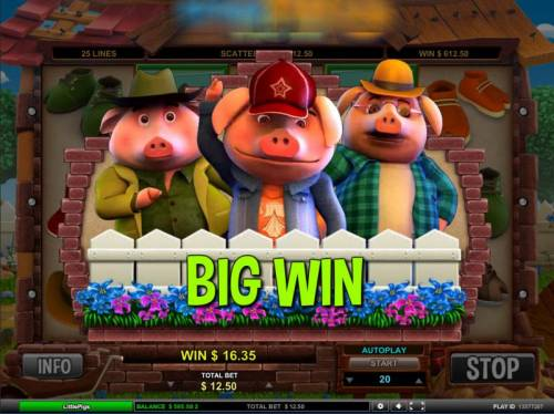 Little Pigs Strike Back review on Big Bonus Slots