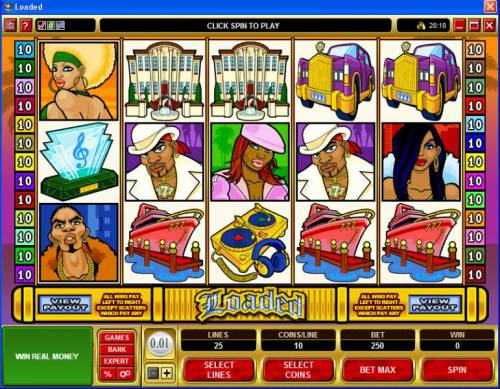 Loaded review on Big Bonus Slots