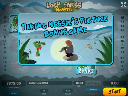 Loch Ness Monster Big Bonus Slots Taking Nessies Picture Bonus Game.
