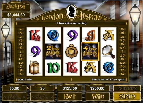 London Inspector review on Big Bonus Slots