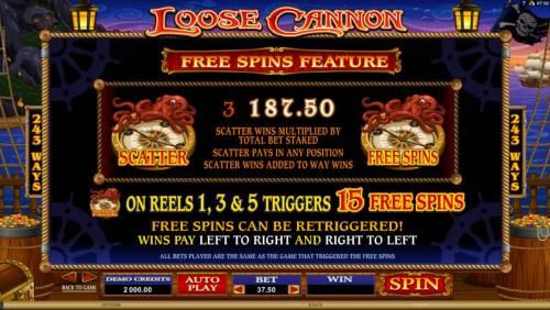 Loose Cannon review on Big Bonus Slots