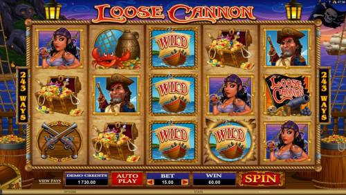 Loose Cannon review on Big Bonus Slots