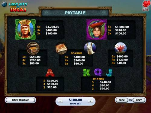 Lost City of Incas review on Big Bonus Slots