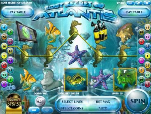 Lost Secret of Atlantis review on Big Bonus Slots